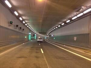 Testfahrt durch den neuen Luise-Kiesselbach-Tunnel in München