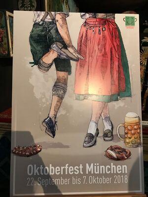 Wiesn-Plakat