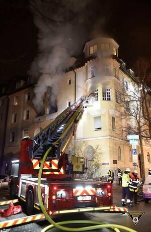 © Foto der Berufsfeuerwehr München
