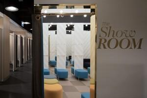 © Der Showroom in Münster - Auch in München soll es diese Gruppenumkleiden geben. Foto: Primark