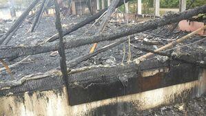 Feuer in Tennishalle in Eching - Bilder der Zerstörung nach dem Brand
