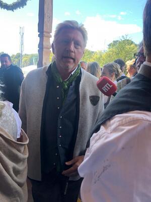Boris Becker auf dem Oktoberfest, © Boris Becker auf dem Oktoberfest