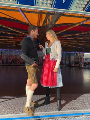 Wiesn, Oktoberfest, München, münchen.tv, Promi, Star, Fanny Fee Werther, © DTM Champion Marco Wittmann im Interview