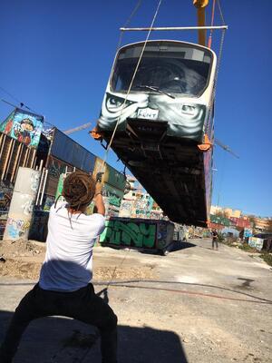 Die Kulturstätte Bahnwärter Thiel bekommt weitere U-Bahn-Waggons