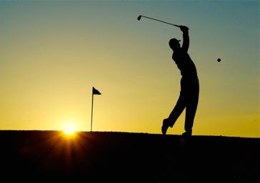 Rund um den Tegernsee gibt es viele Golfplätze, © Symbolbild