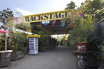 Backstage Eingang, © Foto: Backstage Concerts GmbH