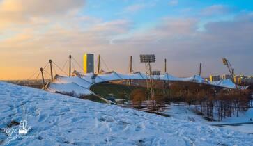 © Der Münchner Olympiapark im Winter - Bild: TOJE Photografie