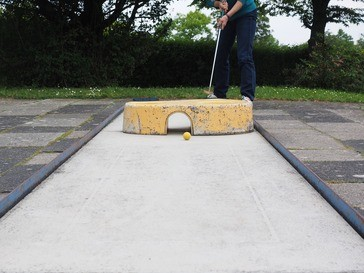 Am Tegernsee kann man Minigolf spielen, © Symbolbild