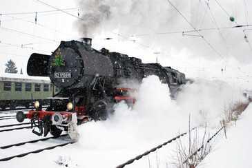 Lokomotive, © Bayerisches Eisenbahnmuseum