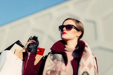 shopping, tüten, einkaufen, lady, © Symbolfoto