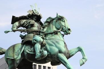 Samurai Reiterstatue, © Symbolbild