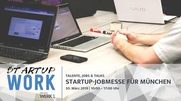 Startup Work Messe München, © Werk 1