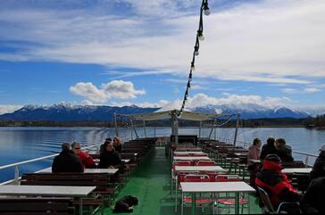Schiff auf dem Staffelsee, © Staffelsee Schifffahrt