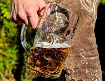 Bier, Lederhosn, Mass, Helles, Prost