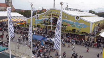 Screenshot aus der Wiesn-Webcam