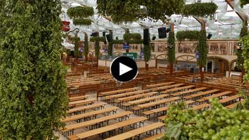 Wiesn Webcam im Hofbräu Festzelt Oktoberfest