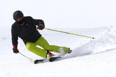 Ein Skifahrer auf der Piste, © Symbolfoto