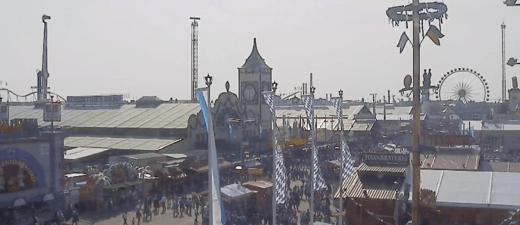 Wiesn-Webcam Live auf das Oktoberfest