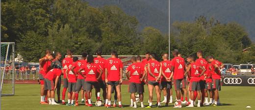 © Der FC Bayern München beim Training in Rottach-Egern am Donnerstag