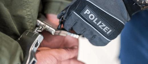 Festnahme durch Münchner Bundespolizei, © Bundespolizei