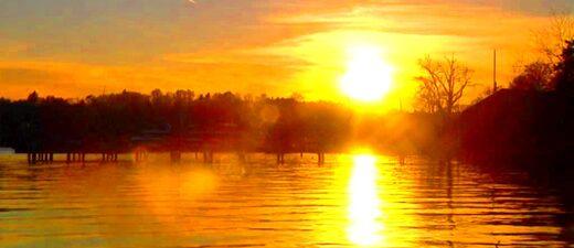 Sonnenuntergang am Starnberger See