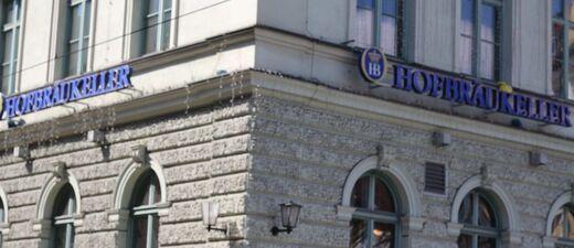 Der Hofbräukeller am Wiener Platz.