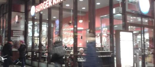 Fastfood bei Burger King