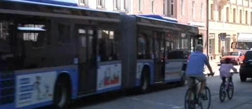 Bus der MVG in München unterwegs.