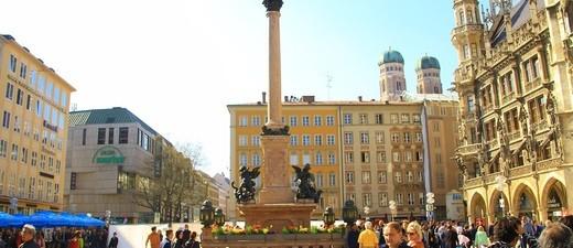 Kommt ein vierter verkaufsoffener Sonntag?, © Mariensäule am Marienplatz