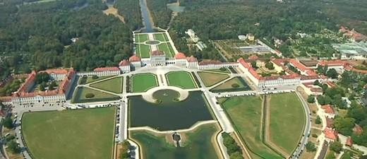 Das Schloss Nymphenburg aus der Luft , © Das Schloss Nymphenburg aus der Luft Foto: Red