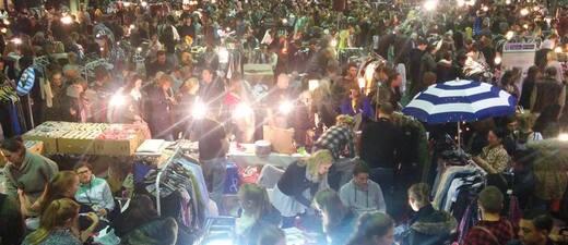 Nachtflohmarkt München, © Foto des Nachtflohmarkts München