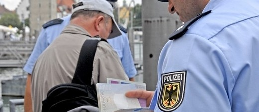 © Bundespolizei kontrolliert Grenzen - Symbolfoto