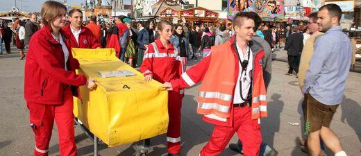 Oktoberfest Rotes Kreuz im Wiesn-Einsatz , © Foto: Marion Vogel