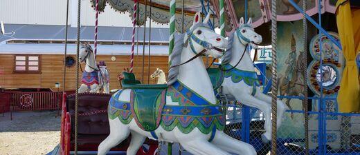historische karusell wiesn oktoberfest presse rundgang 2015