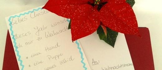 Wunschbrief an das Christkind