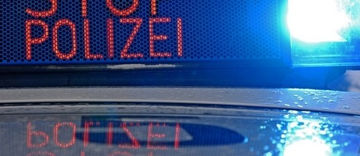Stopp-Polizei Anhaltesignal
