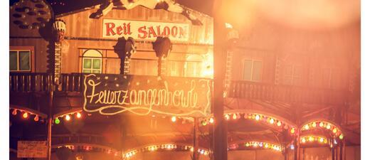 Feuerzangenbowle am Märchenbazar