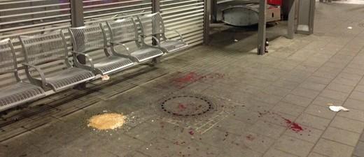 Bahnsteig des Bahnhofs Pasing nach der Gewalttat, © Bahnsteig des Bahnhofs Pasing - Foto: Polizei