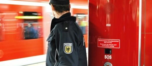 Die Bundespolizei an der S-Bahn, © Symbolbild. Foto: Bundespolizei