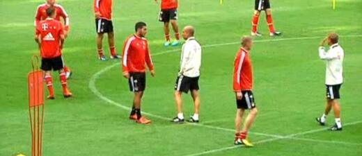 Trainingseinheit des FC Bayern München , © Fc bayern vor Rückspiel gegen Lissabon