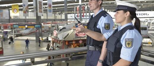 Die Bundespolizei am Hauptbahnhof München , © Symbolbild - Foto: Bundespolizei