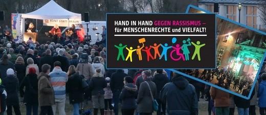 Aktion gegen Rassismus: Menschenkette in München geplant , © Am Sonntag ist am Karlsplatz um 12.00 Uhr Treffpunkt für die Menschnekette