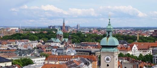 Panorama von München