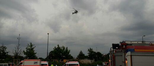 Hubschrauber kreisen nach Schiesserei in München