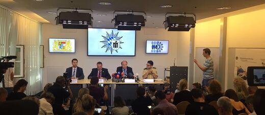 Pressekonferenz der Ermittler zum Amoklauf in München