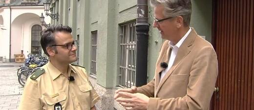 Polizei Pressesprecher Marcus da Gloria Martins Amoklauf München, © Im Gespräch: Jörg van Hooven und Marcus da Gloria Martins