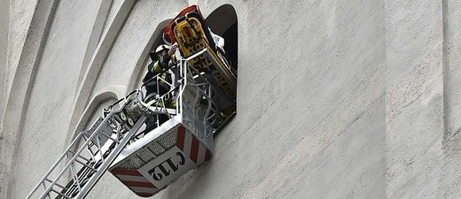 Rettungseinsatz am Alten Peter in München, © Foto: Berufsfeuerwehr München