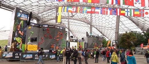 Klettern für Experten, Boulderweltcup im Olympiastadion