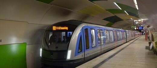 C2_MVG_U-Bahn_U6, © Foto: Wolfgang Wellige