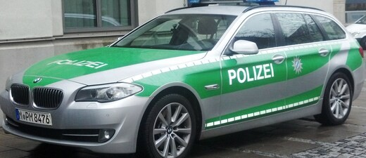 Ein Polizeiauto, © Symbolbild